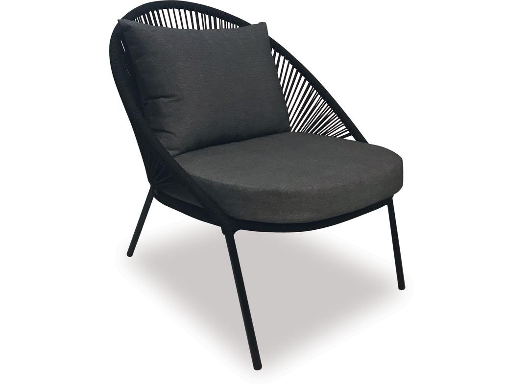 Groovy Alfresco Zadar Rope Lounge Chair Danske Mobler Nz Made Theyellowbook Wood Chair Design Ideas Theyellowbookinfo