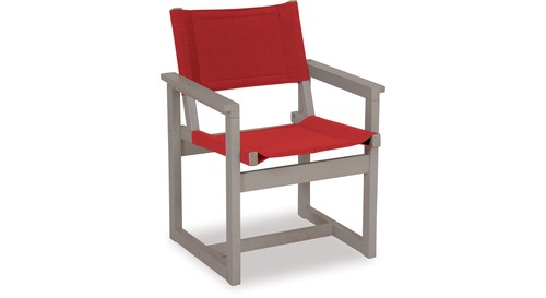 E2 Outdoor Chair - Grey Wash