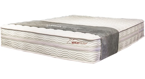 A - Sierra Slat Bed Mattress Only - Plush M917 Queen