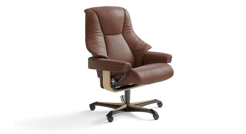 Stressless® Live Leather Home Office Chair