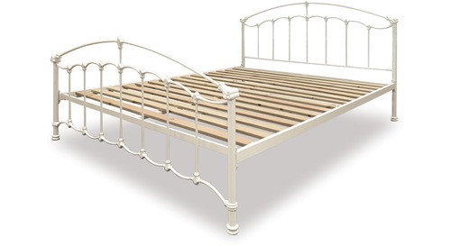 Amelie Slat Bed Frame & Headboard - Queen