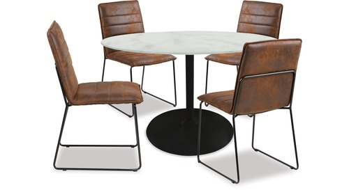 Tarifa Dining Table & Kitos Chairs x 4