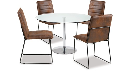 Becky Dining Table & Kitos Chairs x 4