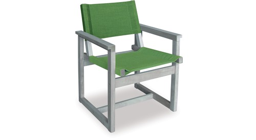 E2 Outdoor Chair - White Wash