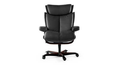 Stressless® Magic Leather Home Office Chair